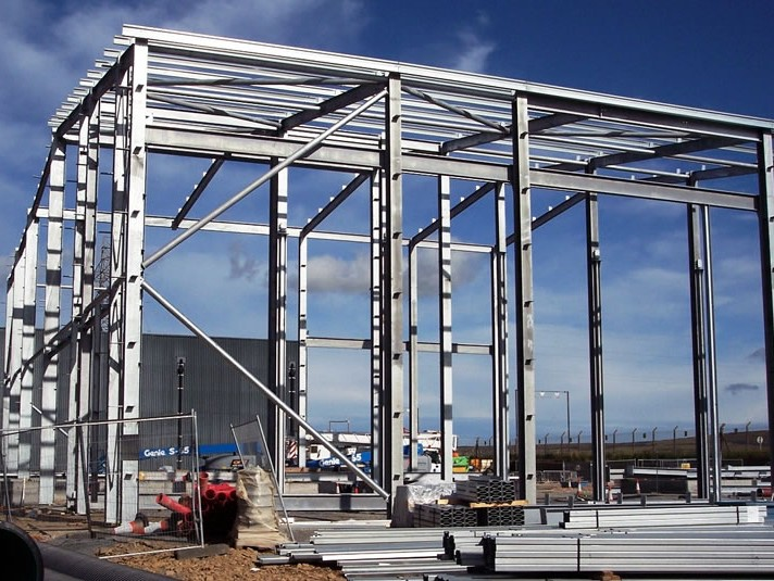 Generator Building Fabrication