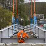 Bleaton Hallet Bridge Installed