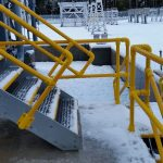 GRP stair installations completed at the Fort Augustus sub-station