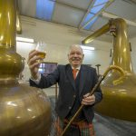 Alan James will act as Piping Chieftain
