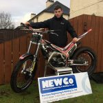 Calum goes on trial with new bike