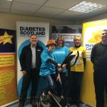 AJE & NEWCo charity cycle underway