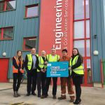 Scottish minister learns about AJE apprenticeships