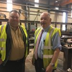 Company showcased to Council leader