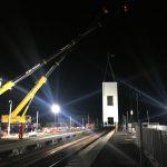Bridge install remains on track