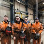 Trainee scheme leads to four new employees