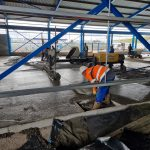 Floor poured at new AJE development